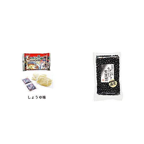 [2点セット] 飛騨高山ラーメン[生麺・スープ付 (しょうゆ味)]・国産 黒豆茶(200g)