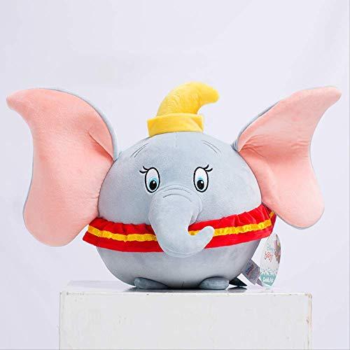 Dumbo Knuffel Pop Pop Kussen Zachte Decoratie Voor Kind Vriendin Verjaardagscadeau 30cm Vliegende olifant