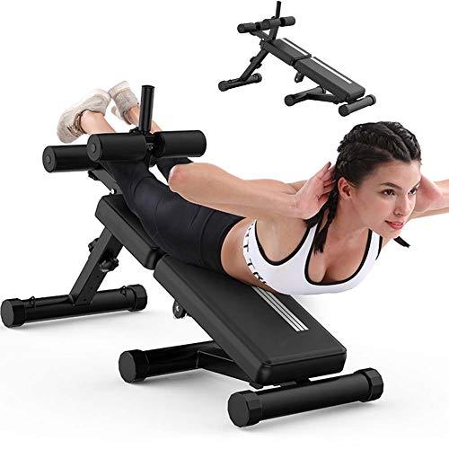Starsmyy Panca Fitness per Addominali Palestra Pesi Allenamento Regolabile Pieghevole