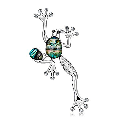 Broche para niñas, accesorios de joyería, broche de rana, para mujer, vestido de camisa, joyería, decoración de cócteles, rana, Navidad, Año Nuevo, cumpleaños, regalos