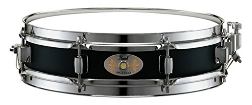Pearl S1330B 13 x 3 Inches Black Steel Piccolo Snare Drum