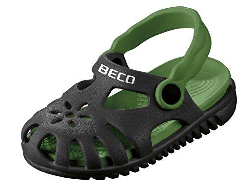 Beco Unisex-Kinder Kindersandalen-90026 Slingback Sandalen, Schwarz (Schwarz 0), 27 EU