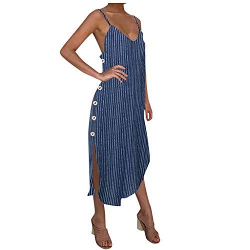 Women's Summer Spaghetti Strap Casual Swing Tank Beach Cover Up Dress Sexy Print Beach Boho Straps Short Dress