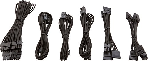 Corsair CP-8920202 Premium Sleeved SF Netzteil Kabel-Set schwarz