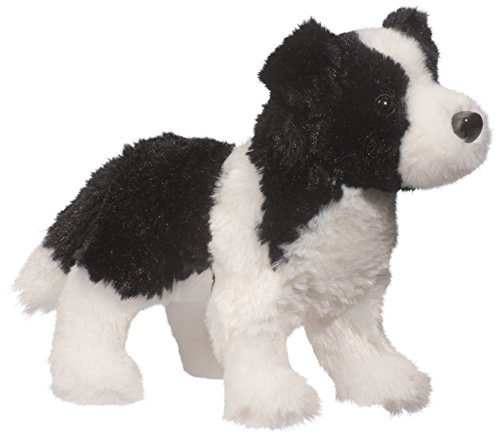Douglas Meadow Border Collie Plush Stuffed Animal