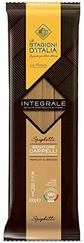 Le Stagioni d'Italia Pasta Spaghetti trigo integral - 24 x 500g
