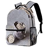 A small bag of buckwheat flour The classic casual backpack is unisex, perfect for school work and travel