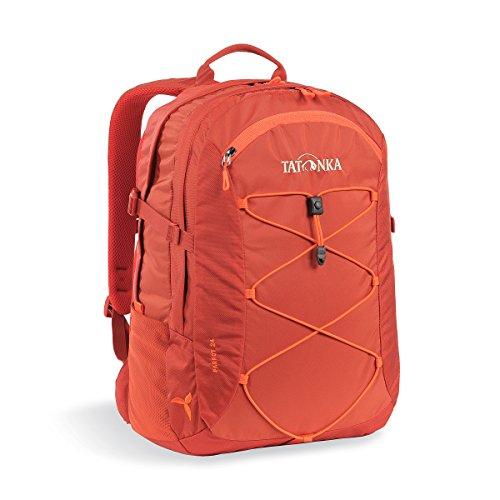 Tatonka Laptop-Rucksack Parrot 24 Women - Daypack für Damen - mit 15 Zoll Notebookfach - fasst mehrere DIN A4-Ordner - 24 Liter - Redbrown