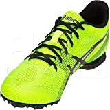 ASICS Men's Hyper MD 6 Track & Field Shoes, 5M, Safety Yellow/Black