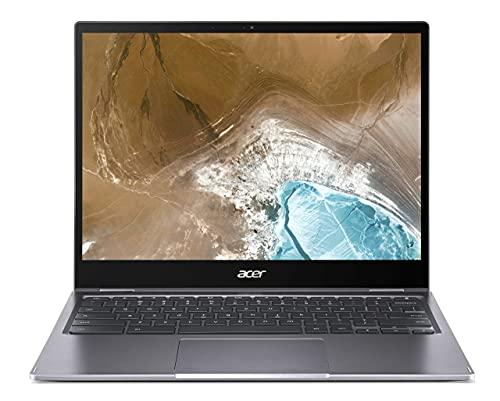 Acer Chromebook Convertible 13 Zoll (CP713-2W-541X) (ChromeOS, QHD Touch-Display, bis zu 10 Stunden Akku-Laufzeit, Tastatur beleuchtet, Aluminium; 1,4 Kg leicht, 17mm dünn) Premium Chromebook