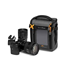 CUSTOMIZE FOR YOUR CAMERA: Flexible interior dividers adjust to secure mirrorless camera plus 1 extra lens; internal pocket holds memory card and exterior pocket houses cables & supplies READY FOR THE PACE OF MODERN TRAVEL: GearUp cases make ideal ba...