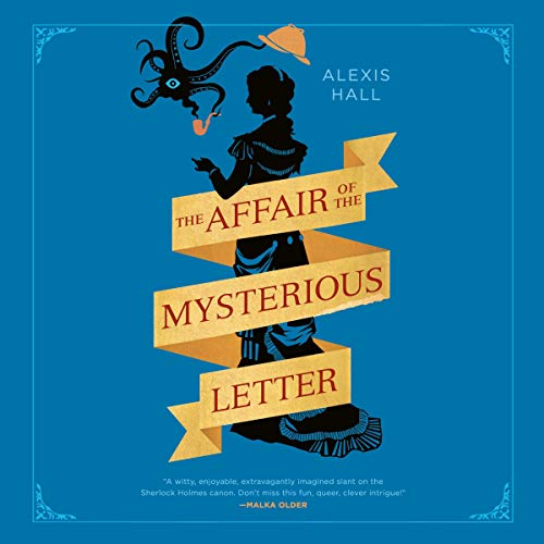 The Affair of the Mysterious Letter audiobook cover art
