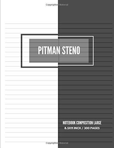 alpha-ene.co.jp 6 x 9 80 Sheets Stenographers Notebook Pitman ...