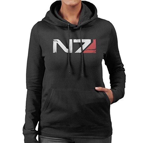 Cloud City 7 Mass Effect N7 Armour Women's Hooded Sweatshirt