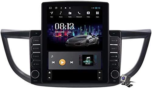 LYHY Android 9.1 Browser per Auto GPS con Schermo Verticale da 9,7 Pollici per Honda CRV CR-V 2012-2016 - Autoradio FM, connessione Internet, Supporto DSP/Chiamata in Vivavoce