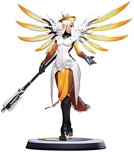 FHMHJH Overwatch: Mercy Action Figure Movie Carattere di Modello Giocattoli