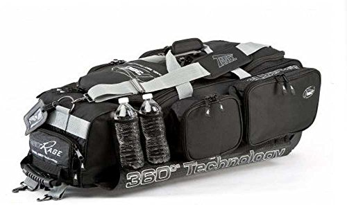 Tanel 360 R.A.G.E. Wheel Baseball/Softball Equipment Gear Bag 20-088-000 Black