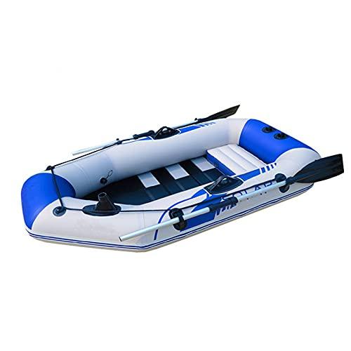 BESISOON Kayak Inflable Se?al 1 Persona Paddle Pesca Kayak Peque?o Pesca Inflable Barco PLOTING PVC KAYAKbote Inflable para Pesca En Bote