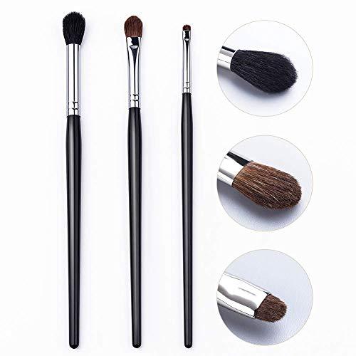 UNIMEIX Professional Eyeshadow Eyeliner Blending Eye Makeup Brushes Set Soft Natural Black