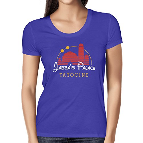 Texlab Damen Jabba's Palace Tatooine T-Shirt, Marine, M