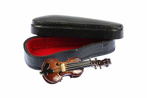 Miniblings Geige Brosche Geigenbrosche Pin Anstecker Violine + Box - Handmade Modeschmuck I Anstecknadel Button Pins