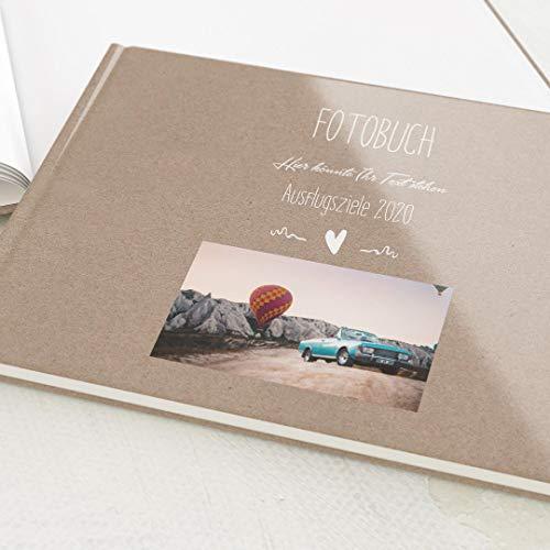 sendmoments Fotobuch zum Selbstgestalten, Passend, personalisiert mit eigenem Bild & Text,...
