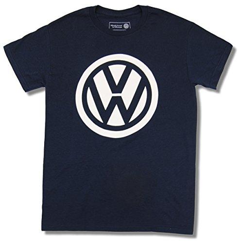 Volkswagen VW Logo Licensed Graphic T-Shirt, Navy, X-Large