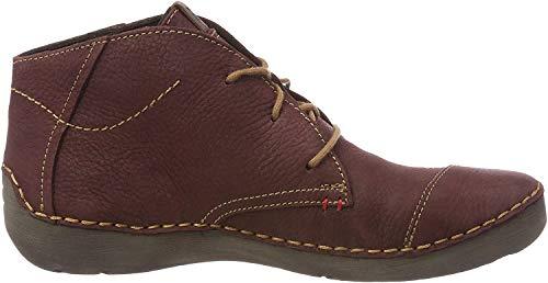 Josef Seibel Damen Fergey 18 Desert Boots Rot (Bordo 410) 42 EU
