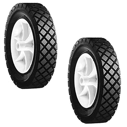 """(New) 2 Pack Push Lawn Mower 7"""" X 1.50"""" Front Wheels for Snapper 7018189 (2991) fits Snapper/Kees 1-8189, 7018189, 7018189YP, 7022795 -  NP LAWN MOWER parts"""