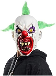 Latex Scary Halloween Clown Mask for Adult