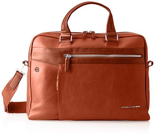 PIQUADRO Autumn-Winter 17 Laptop Bag, 10 x 27 x 38 cm (W x H x L), Brown (Brown) - CA4131W82