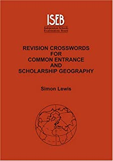 Revision Crosswords for Common Entrance Geography and Scholarship Geography