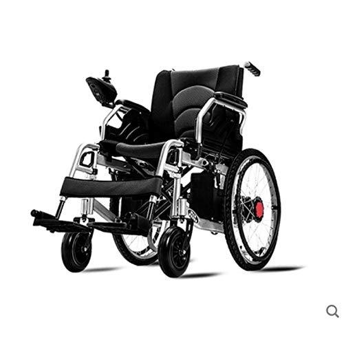 Rolstoelen Light Weight Elektrische rolstoelen Opvouwbare Portable, The Longest Drive 20km20A Lithium batterij 22-inch wiel, twee standen for Ouderen met een handicap