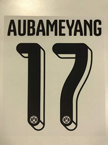 Flock Original BVB Borussia Dortmund Trikot 25cm - AUBAMEYANG 17
