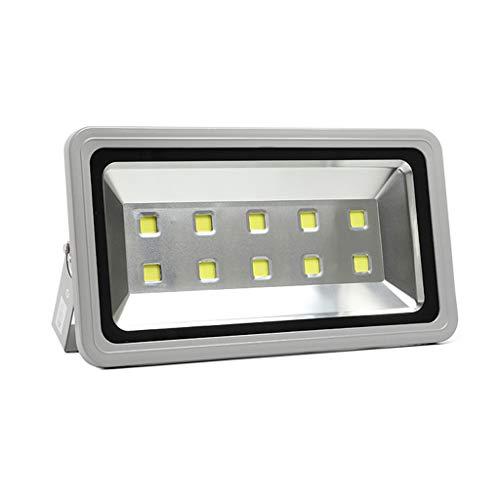 Luces de inundación LED Luces LED de 500w Iluminación de seguridad al aire libre IP66 Luz del día a prueba de agua Blanco Exterior Proyectores de la casa Accesorio Exterior Patio LED Patio trasero G