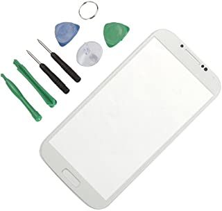 Generic Replacement Glass for Samsung Galaxy S4 SIV i9500 - Free TOOLS White