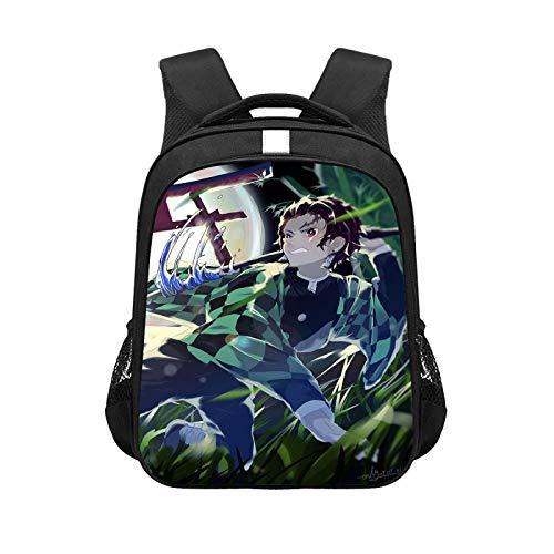 CJIUDI Black 11,Cartoon Daypack for Boys Teenage - Waterproof School Backpack,Lightweight Fashion Rucksack,for Kids/Students/Adults
