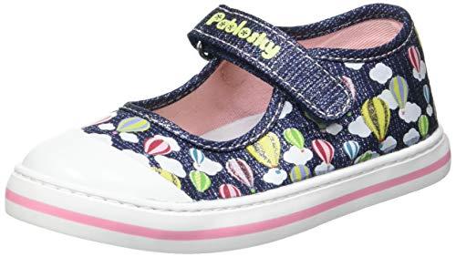 Zapatillas De Lona Niña Pablosky Azul 961221 21