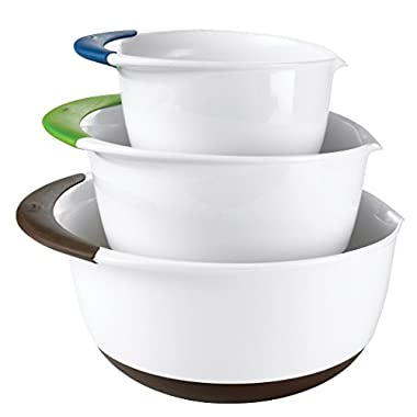 OXO Good Grips 3-Piece Mixing Bowl Set