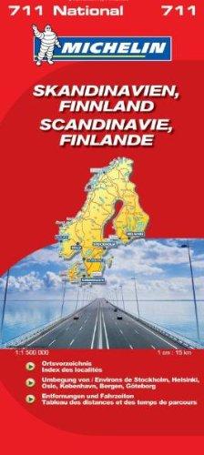 Skandinavien-Finnland (MICHELIN Nationalkarten)