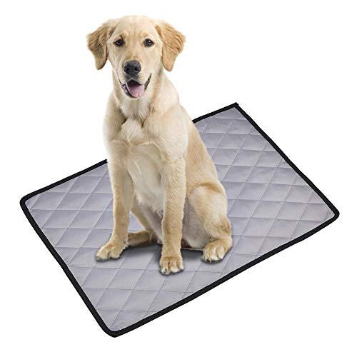 Kitabetty Hundebett-Kistenmatte, rutschfeste waschbare Hundematratzen-Haustier-Zwingerauflagen, Haustier-Auto-Matten-Hundeschlafmatte, atmungsaktiv und weich, für Hunde und Katzen