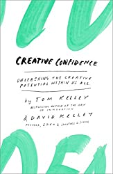 An image of a book entitled Creative Confidence. Read a book to fuel creativity