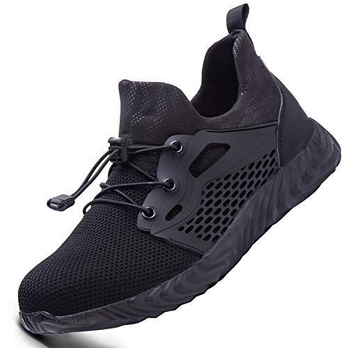 Ucayali Zapatillas de Seguridad Hombre con Punta de Acero Ligeros Transpirables, Unisex-Adulto, 35-48