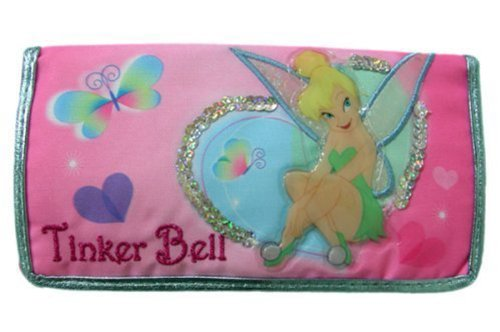Pink Disney Tinkerbell Checkbook Wallet