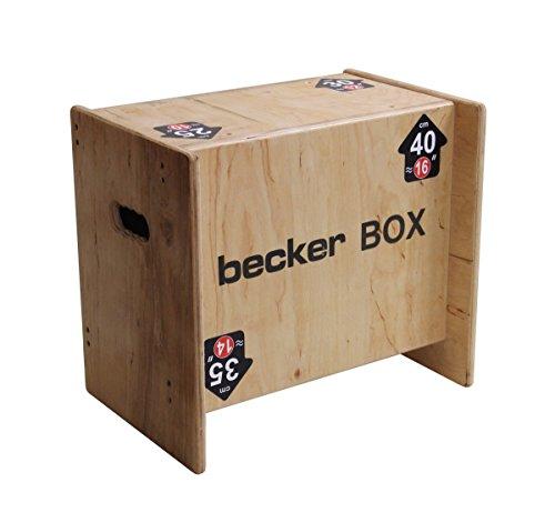 Becker-Sport Germany Becker Box XS Weltneuheit, 5 in 1 Box (BSG 28951) einzigartige Plyo Box mit 5 Sprunghöhen