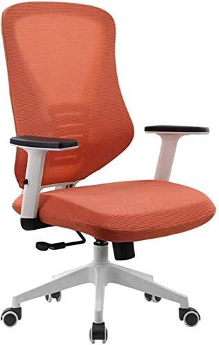Krzesła biurowe, komputer, szef, ergonomiczne biurko, podnoszony podłokietnik, oddychający fotel z siatki poliestrowej (kolor: czarny)