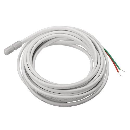 KUNSE 3M 10K elektrische temperatuur sensor sonde voor vloerverwarming thermostaat 20X5mm