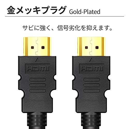 『FSC ハイスピードHDMIケーブル Ver1.4 イーサネット/4K/3D/オーディオリターン (5m)』の3枚目の画像