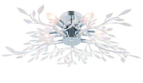 Deckenlampe Äste Deckenleuchte Wohnzimmerlampe 5 Flammig (Schlafzimmerlampe, 71 cm, 5 x E14 Fassung)