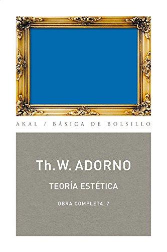 Teoría Estética: 67 (Básica de Bolsillo Adorno. Obra completa)